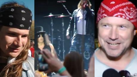 TYLKO U NAS Relacja z koncertu Guns N Roses Nie spodziewałem się takiego supportu jak Doda
