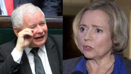 Nowicka do Kaczyńskiego Jak można zmuszać kogoś by przez 9 miesięcy nosił płód i wiadomo że nie będzie żyć