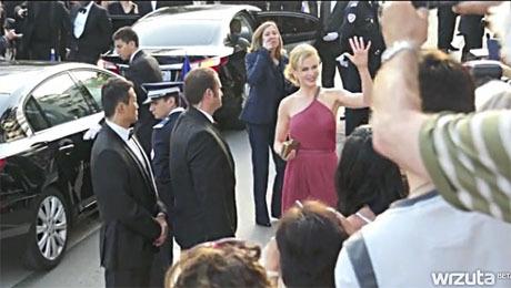 Kac Cannes Nicole Kidman na czerwonym dywanie