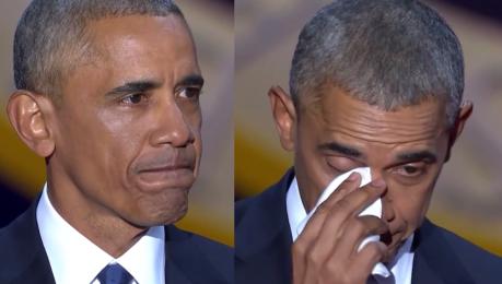 Wzruszony Obama dziękuje żonie Młode pokolenie ma ciebie za wzór