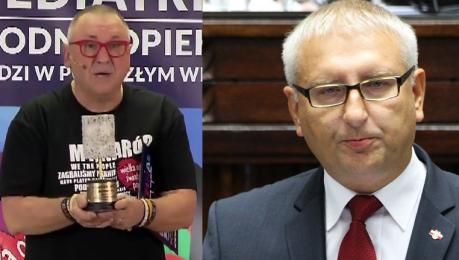Owsiak o rekordowym wyniku WOŚP Poseł Pięta spowodował że naród nas bardziej pokochał