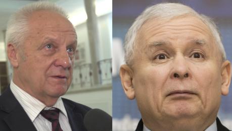 PUDELEK W SEJMIE Niesiołowski o Kaczyńskim Formalnie to zwykły poseł jak Liroy Marzec
