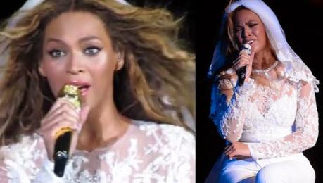 Beyonce śpiewa o KOCHANCE MĘŻA