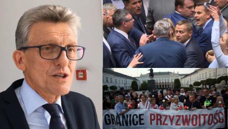 Piotrowicz z PiS atakuje opozycję Pochowali Jaruzelskiego z honorami i maszerują z SB kami pod rękę