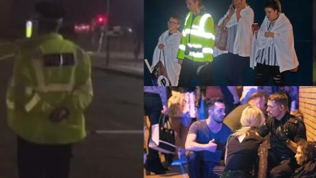 Świadek zamachu w Manchesterze Usłyszałem bardzo głośny huk początkowo myślałem że to zderzenie pociągów