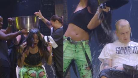 Rihanna wylała kubeł wody na Eminema