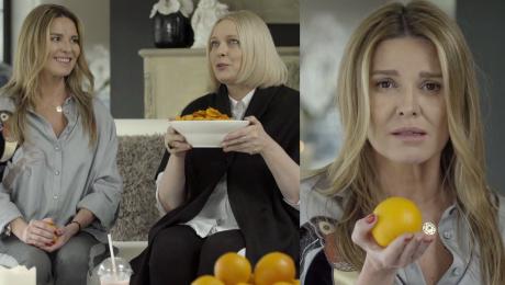 Hanna Lis usiłuje parodiować Nosowską Zabawne