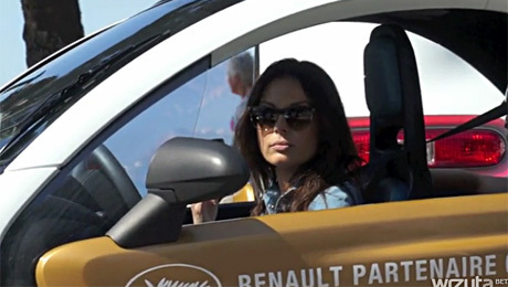 Glinka testuje nowy model Renault