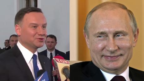 Duda Rosja to nasz wielki sąsiad Spotkanie z Putinem Zobaczymy