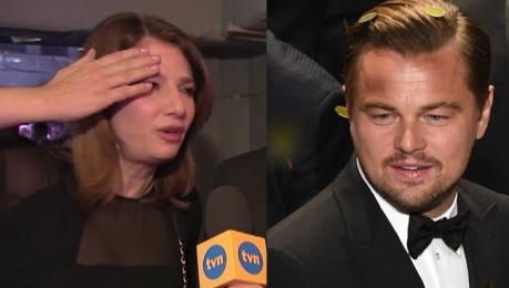 Wolszczak o DiCaprio Nie byłam w stanie znieść tej męki Kocham Leo ale nie za tę rolę