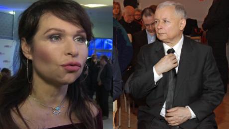 Wiganna Papina przekonuje Jarosław Kaczyński to przemiła szarmancka osoba i dżentelmen