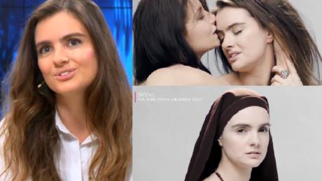 Maria Niklińska tłumaczy się z teledysku Był symboliczny i mam nadzieję że zmysłowy