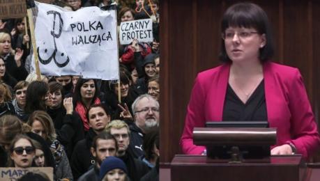Działaczka pro life w Sejmie Ludzie nie chcą zbrodniczej i feministycznej ustawy Chcą zakazu zabijania chorych dzieci