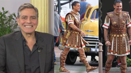 Clooney o roli Cezara Ćwiczyłem długość spódnicy Zapytałem żony jak długa powinna być