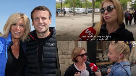 Francuzi o związku Macrona Co ma prezydentura do wieku małżonki Jest inteligenta DOBRZE WYBRAŁ
