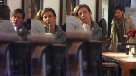 Zmęczona Rusin bez makijażu na mieście Wygląda na 46 lat