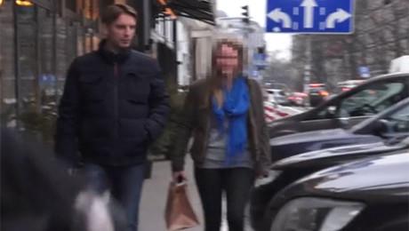 Tomasz Lis z córką na sushi