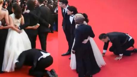 SKANDAL na czerwonym dywanie w Cannes
