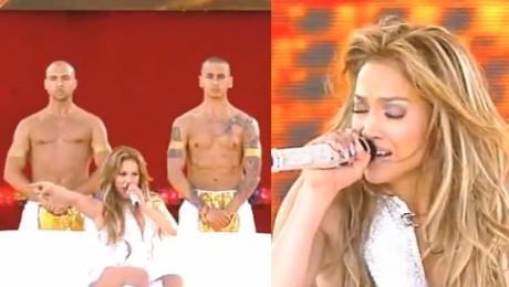 44 letnia Jennifer Lopez trzęsie pupą