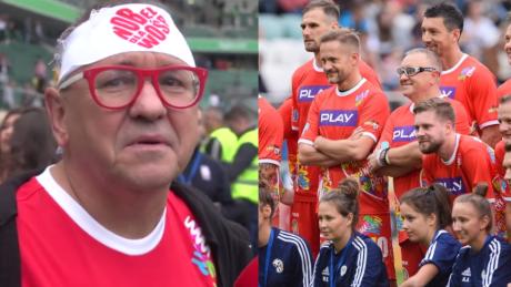 Owsiak zachwyca się meczem WOŚP vs TVN Tak bawmy się na każdym stadionie Trzeba być tolerancyjnym