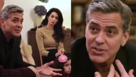 Clooney i Amal odwiedzili imigrantów w Berlinie Sto lat temu w USA to my byliśmy uchodźcami Jesteśmy krajem imigrantów