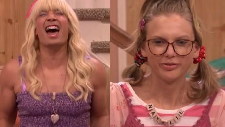 Jimmy Fallon został PRZYJACIÓŁKĄ Taylor Swift