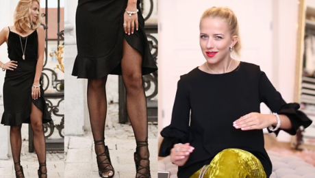Mercedes o noszeniu kabaretek do sandałów To stylizacja podpatrzona od największych francuskich redaktorek modowych