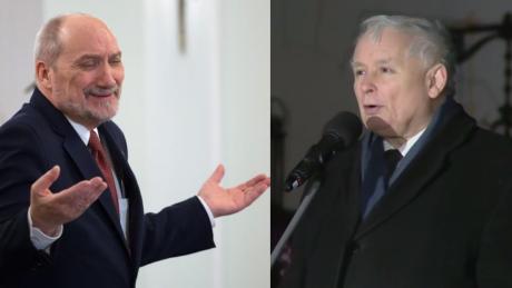 Kaczyński na miesięcznicy smoleńskiej Chwała tym którzy walczyli o prawdę Na czele z Macierewiczem