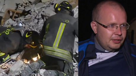 Polski ksiądz który przeżył trzęsienie ziemi we Włoszech Zostałem cudownie ocalony