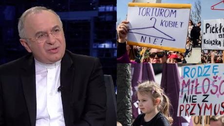 Ksiądz Kloch o ustawnie antyaborcyjnej Dlaczego mamy decydować że dziecko z zespołem Downa nie może się urodzić