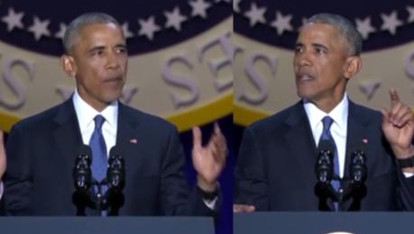 Pożegnalne wystąpienie Obamy Proszę was żebyście wierzyli