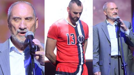 Antoni Macierewicz wygwizdany na meczu Gortata WIDEO