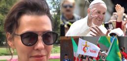 Anna Popek Bardzo chciałabym się spotkać z papieżem Franciszkiem ale to może być trudne