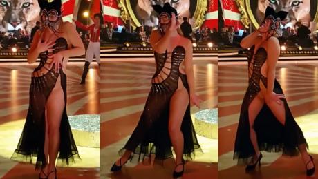 Kaczorowska pokazała krocze na treningu do Tańca z Gwiazdami WIDEO
