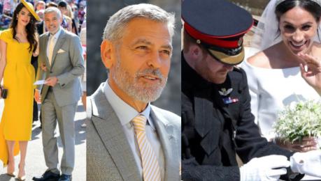 Kulisy royal wedding Hierarchia została zachowana Clooney musiał czekać 10 minut przed bramą