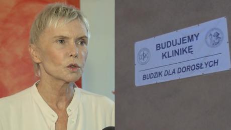 Ewa Błaszczyk Powstanie klinika Budzik dla dorosłych