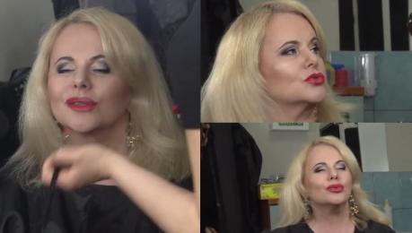 Opuchnięte usta Kurowskiej przygotowują się do spektaklu… Nadal poprawia twarz