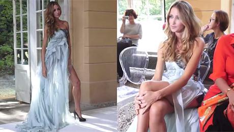 Kate Rozz pozuje jak Angelina Jolie