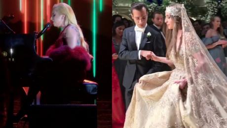Lady Gaga zagrała na weselu Zarobiła 2 MILIONY DOLARÓW