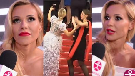 Doda zachwyca się Cannes Aż chce się być aktorką Spotkałam mnóstwo gwiazd