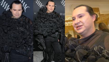 Witkowski o swojej pelerynie To jest prawdziwa moda haute couture