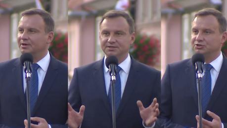 Andrzej Duda Dzieło dobrej zmiany i naprawy państwa jest realizowane