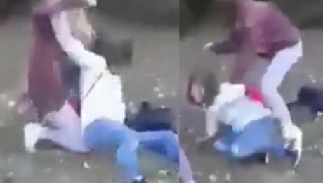Nastolatka z Bydgoszczy brutalnie pobiła koleżankę Nie broń się ku*wa rozumiesz WIDEO