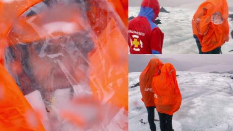 TYLKO U NAS Majdany na islandzkim lodowcu Czy mam tutaj umrzeć