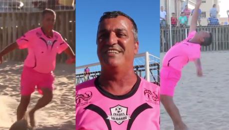 Różowy strój gwizdek i kobiece ruchy Oto nietypowy brazylijski sędzia piłkarski