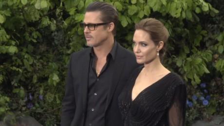 Angelina Jolie i Brad Pitt promują Czarownicę