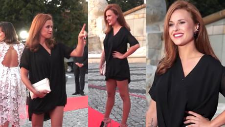 Nogi Paschalskiej na imprezie TVP