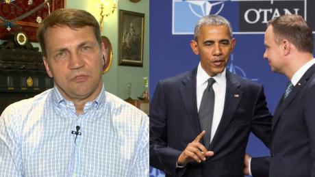 Sikorski Prawdziwego sensu słów Obamy o sytuacji w Polsce nie da się zakłamać