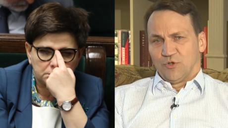 Sikorski krytykuje Szydło Prowadzi do izolacji Polski Takie nacjonalistyczne wypowiedzi o imigrantach nie uchodzą poważnemu politykowi