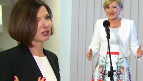Eliza Michalik o Dudzie Powinna być na Kongresie Kobiet Jest osobą publiczną